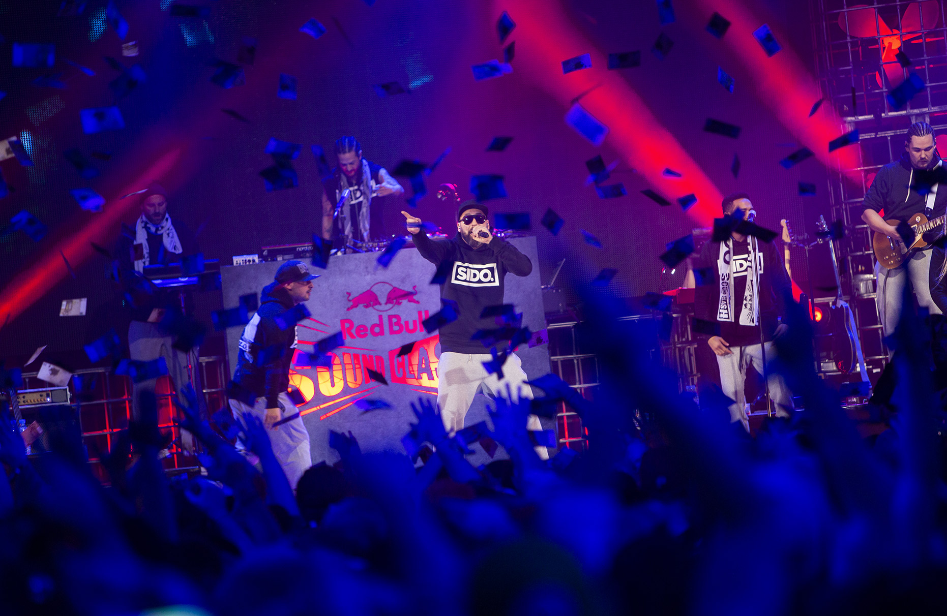 © Dirk Mathesius, SIDO is performing at Red Bull Sound Clash Stage, Essen, germany, Client Red Bull